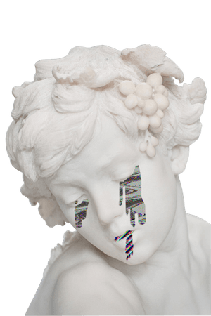 statue crying