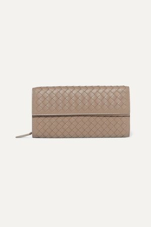 Bottega Veneta | Intrecciato leather continental wallet | NET-A-PORTER.COM