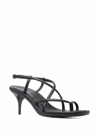 Alexander McQueen Strappy Leather Sandals - Farfetch