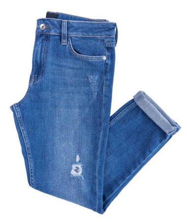 blue jeans folded