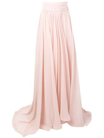 STYLAND pleated maxi skirt