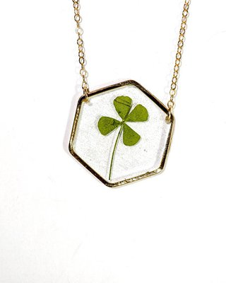 lucky clover necklace - Google Search
