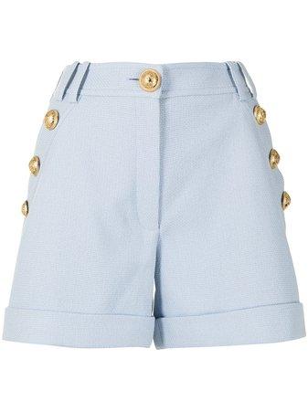 Balmain double-button fastening tailored shorts - FARFETCH