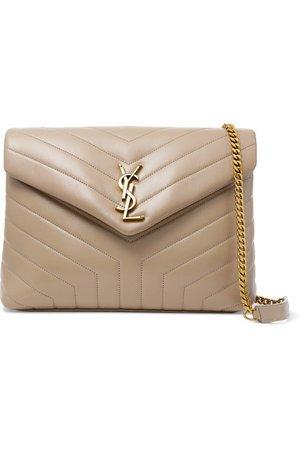 SAINT LAURENT | Loulou medium quilted leather shoulder bag | NET-A-PORTER.COM