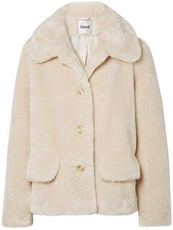 STAND - Noemie Faux Fur Jacket