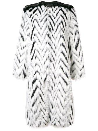 Givenchy, Faux Fur Long Coat
