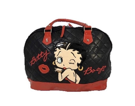 Black and Red Betty Boop Purse