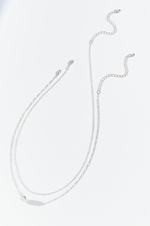 Mini Tag Necklace Set | Urban Outfitters