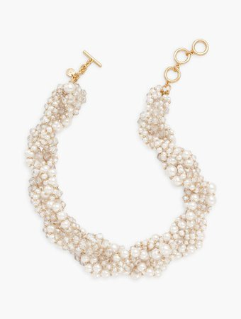 Pearls & Beads Torsade Necklace | Talbots