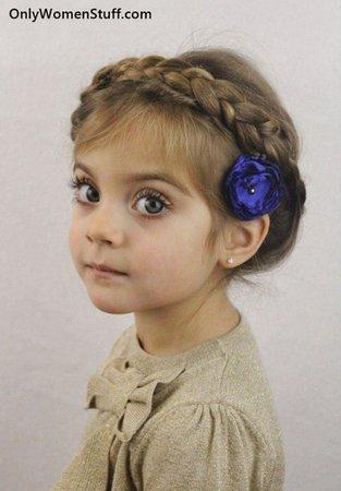 Cute Kid's Hair