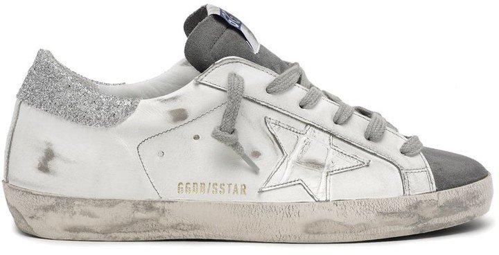 Superstar Sneaker In Dark Grey/White/Silver