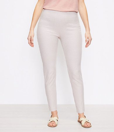 The Curvy High Waist Side Zip Skinny Pant in Check
