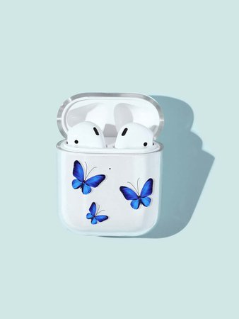 Butterfly Pattern AirPods Case | SHEIN USA