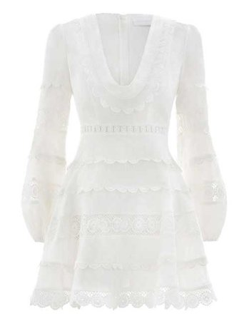 Castile Plunge Short Dress Party Dresses & Coverups Clothing Swim & Resort