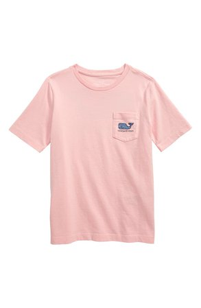 vineyard vines Fish Traffic Whale Pocket T-Shirt (Big Boys) | Nordstrom