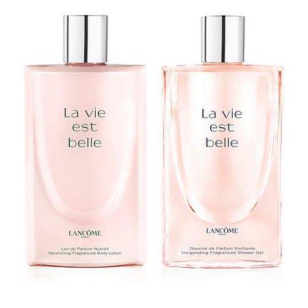 Lancôme La Vie Est Belle Shower Gel and Body Lotion Duo perfume