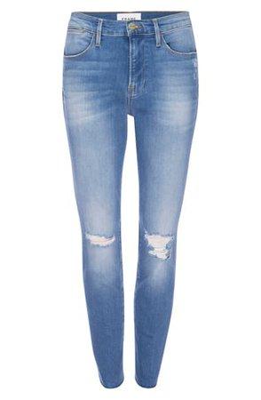 FRAME Le High Skinny Jeans | Nordstrom