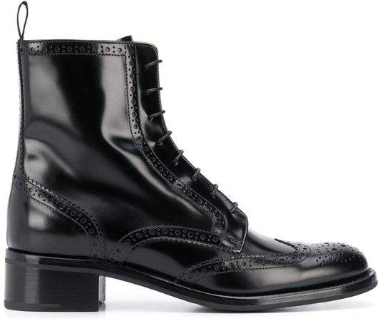 Sylvie brogue boots