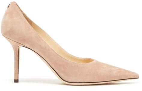 Love 85 Suede Pumps - Womens - Nude