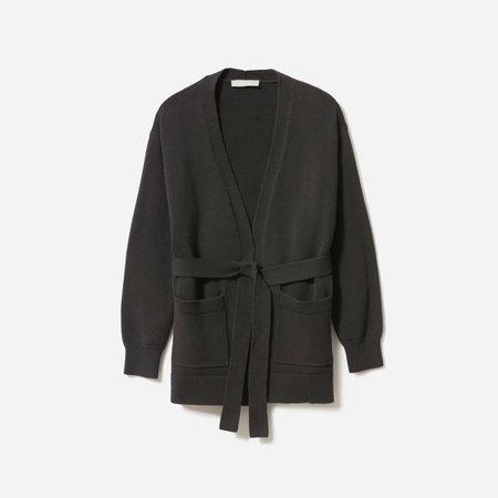 Women's Soft Cotton Wrap Cardigan   Everlane