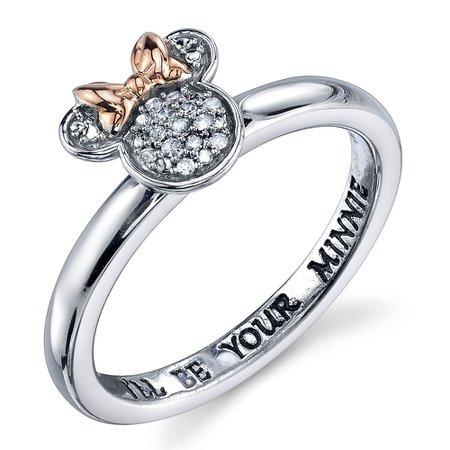 Minnie Mouse Diamond Ring for Women | shopDisney
