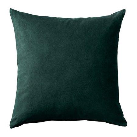 IKEA - SANELA Cushion cover, dark green