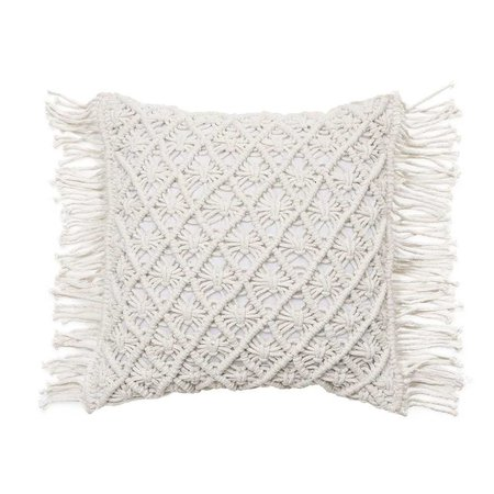 Mercer + Reid - Macrame Cushion