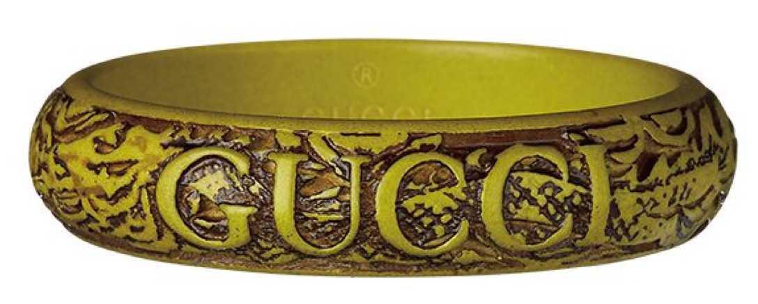 gucci wood bracelet