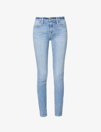 FRAME - Le High mid-rise skinny jeans | Selfridges.com