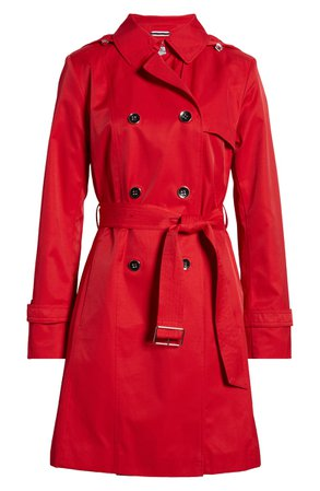 Cole Haan Signature Hooded Trench Coat   Nordstrom