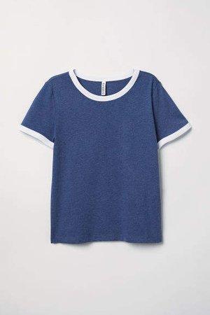 Short T-shirt - Blue