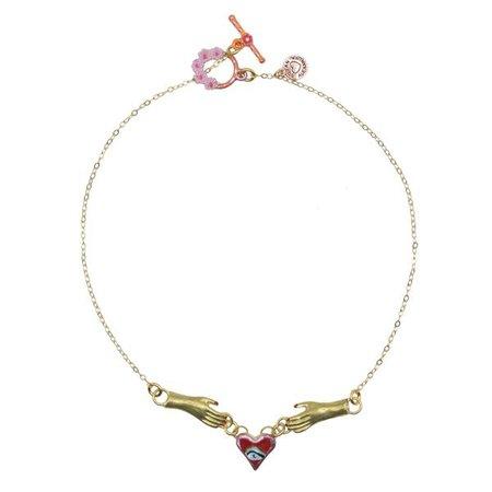 Sacred Heart Necklace – Susan Alexandra