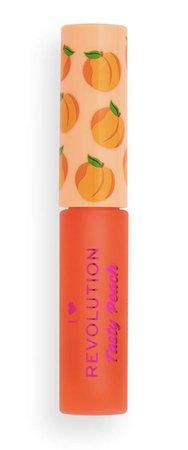 i heart revolution tasty peach lip gloss