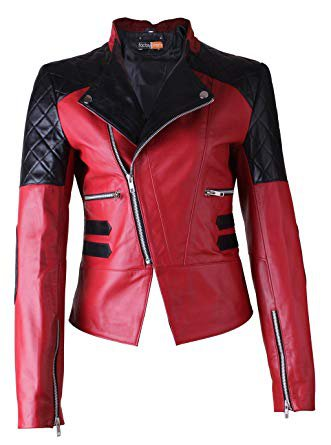 red and black leather jacket - Google Search