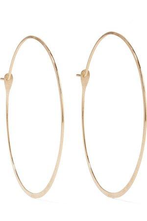 Melissa Joy Manning | 14-karat gold hoop earrings | NET-A-PORTER.COM