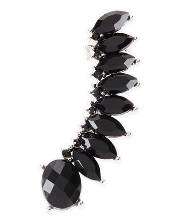 Black Earring Cuff 1
