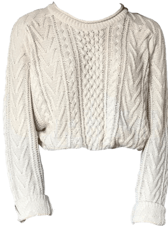 white sweater png