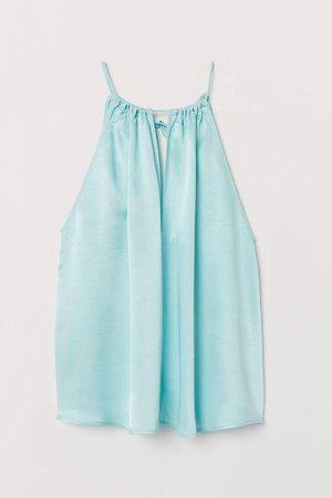 Sleeveless Top - Turquoise