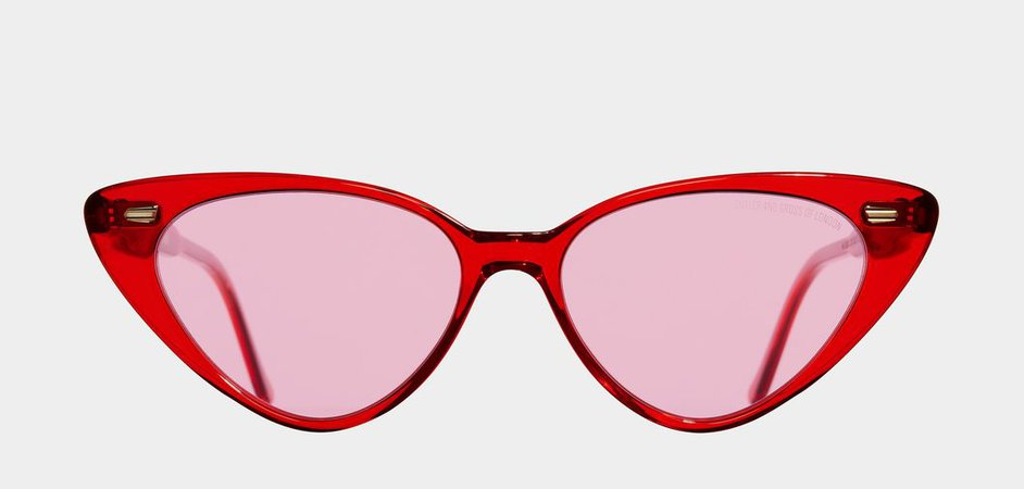 1330-02 Red Sunglasses - Shop - Cutler and Gross