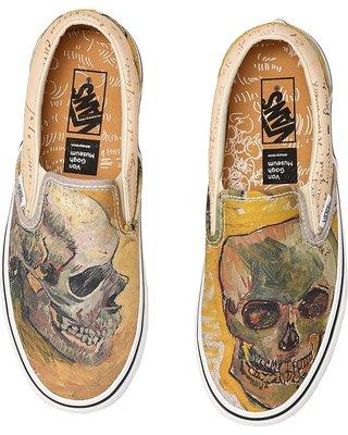 van gogh skull vans