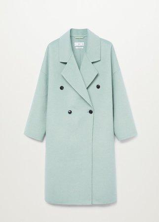 Handmade wool coat - Women | Mango USA