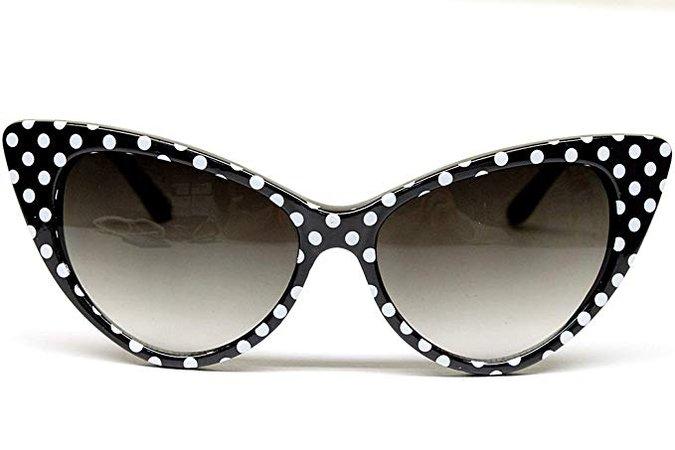 Poka Dot Sunglasses