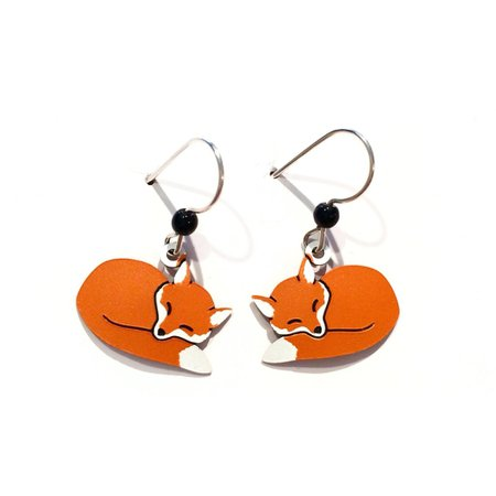 fox earring - Google Search