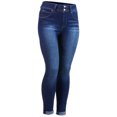 YMI Juniors' Wanna Betta Butt High-Rise Denim Ankle Jeans - Bob's Stores