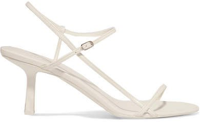 Bare Leather Sandals - White