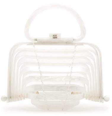 Lilleth Clutch Bag - Womens - White
