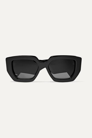 Gucci | Oversized square-frame acetate sunglasses | NET-A-PORTER.COM