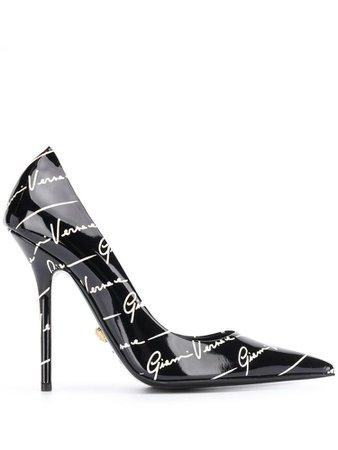 Versace Black Heel