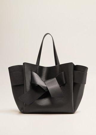 Shopper δερμάτινη τσάντα - Γυναίκα | MANGO ΜΑΝΓΚΟ Ελλάδα