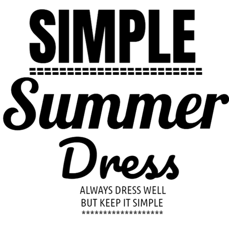 TEXT BY @shoaleh-nia URSTYLE SIMPLE SUMMER DRESS - Fashion look - URSTYLE